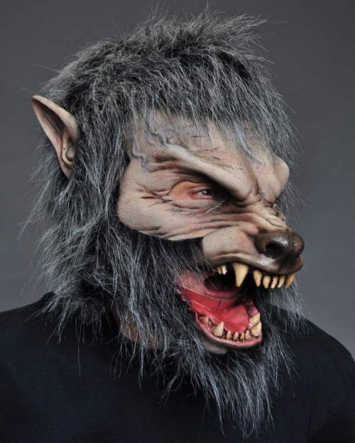 Mask Moving Mouth Great Wolf Teenwolf Teen Animal Halloween Beast